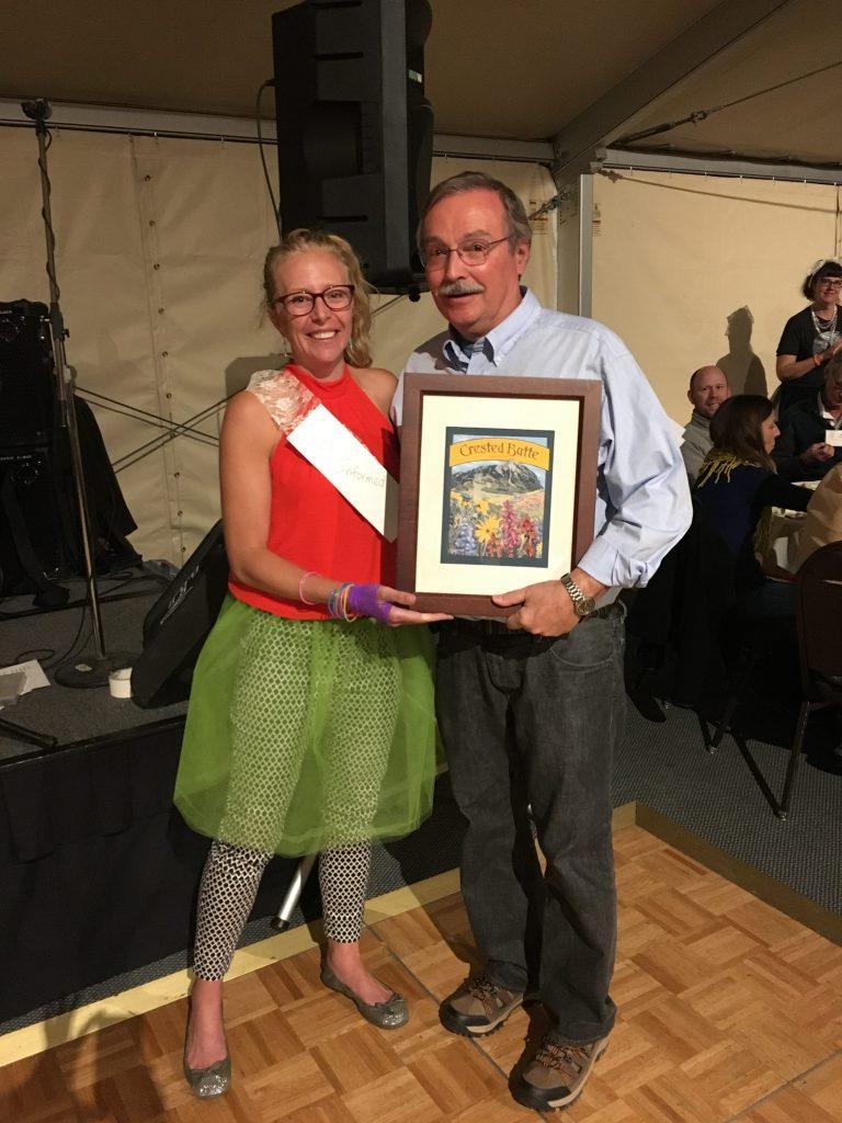 Bruce Abel wins 2016's Lifetime Achievement Award!